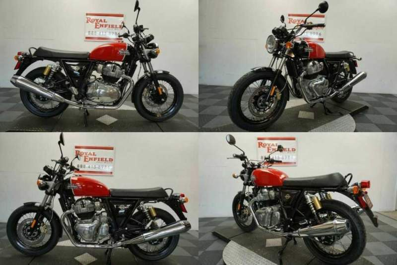 2021 Royal Enfield INT 650 RETRO FUN TO RIDE!!! Red for sale craigslist