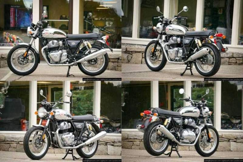 2021 Royal Enfield Interceptor INT650 Glitter & Dust Glitter & Dust for sale