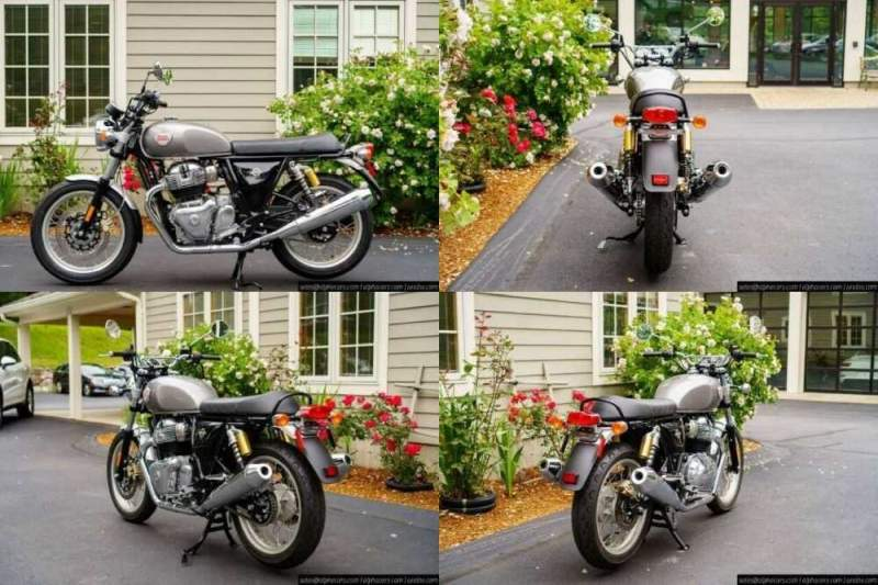 2021 Royal Enfield Interceptor INT650 Silver Spectre Silver for sale