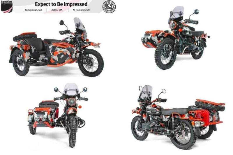 2021 Ural Limited Edition GEO GEO Camo for sale