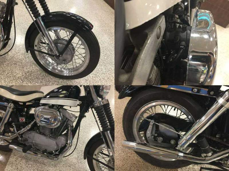 1963 Harley-Davidson XLCH Black & White used for sale