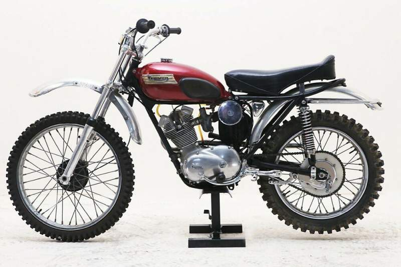 1964 Triumph Tiger Cub 200 red used for sale near me