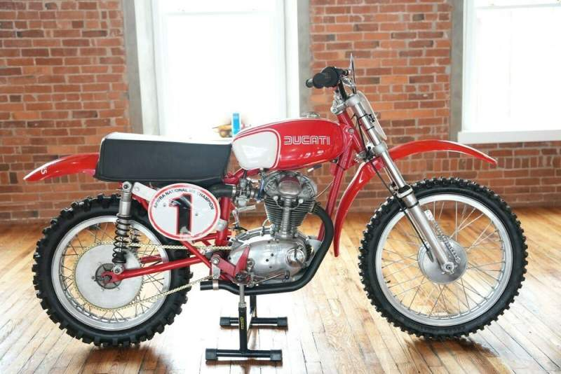 1965 Ducati 250 Desmo MX Ducati Red & White used for sale craigslist