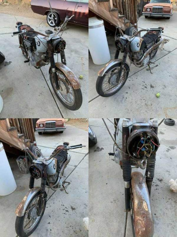 1966 Honda CL silver used for sale craigslist