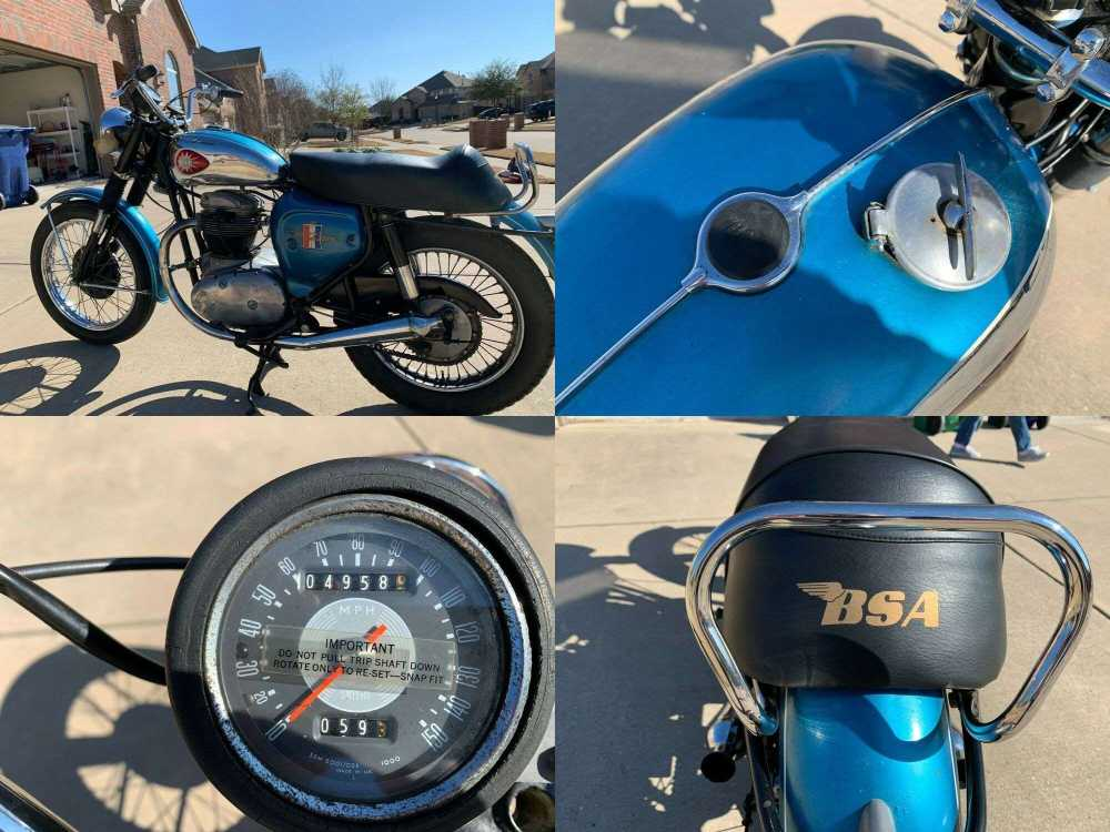 1967 BSA Royal Star Blue used for sale