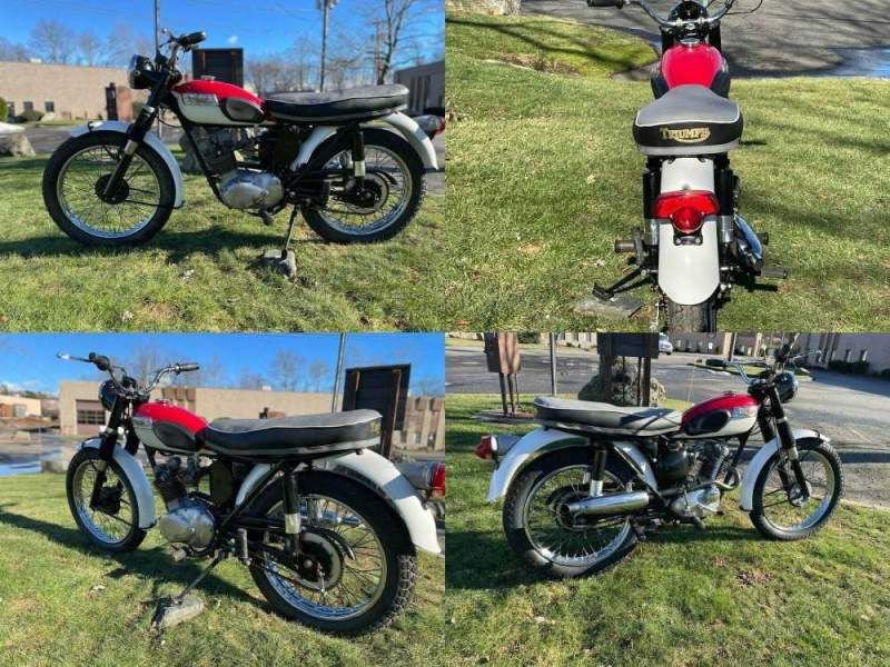 1967 Triumph Tiger Red used for sale