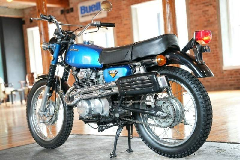 1968 Honda CL Blue used for sale near me