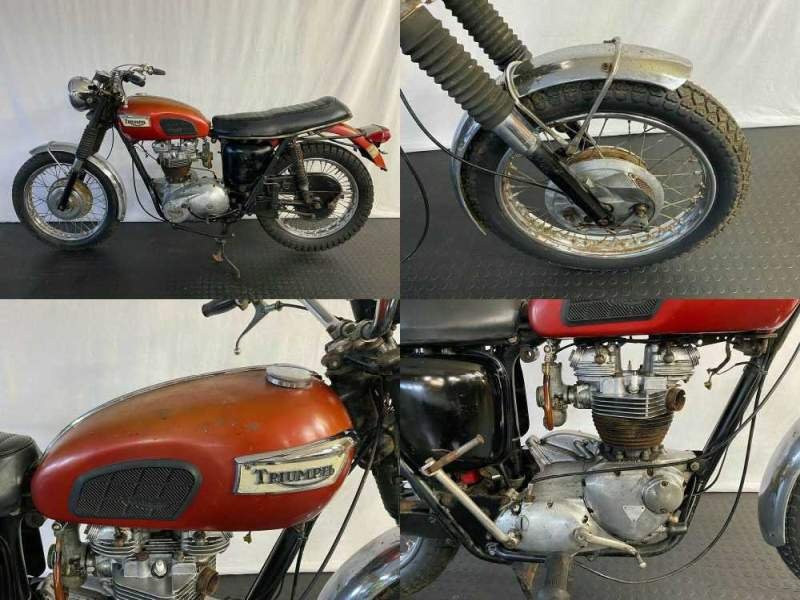 1969 Triumph Tiger Red used for sale craigslist