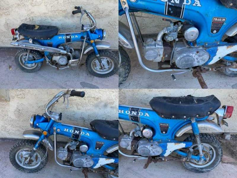 1970 Honda CT Blue used for sale craigslist