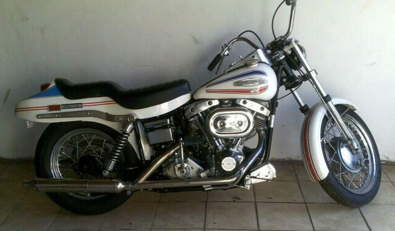 1971 Harley-Davidson Touring Red - White- Blue used for sale