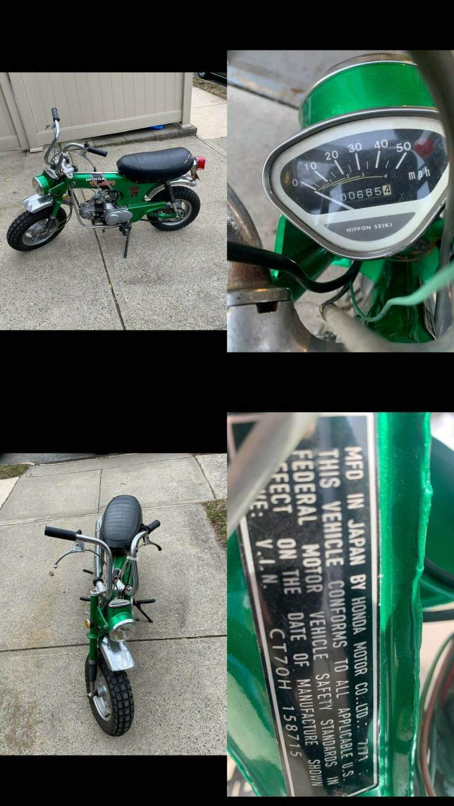 1971 Honda CT  used for sale