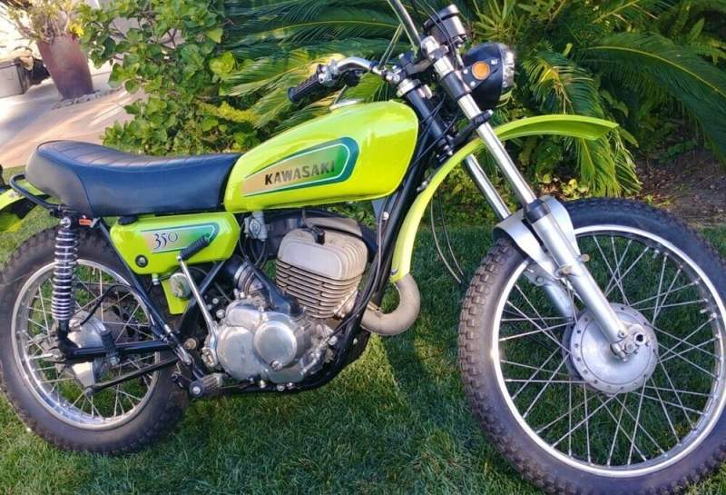 1971 Kawasaki F5 350 Big Horn Bighorn Green used for sale near me