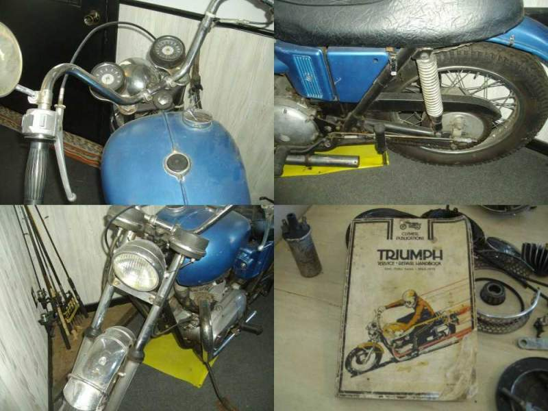 1971 Triumph Tiger Blue used for sale craigslist