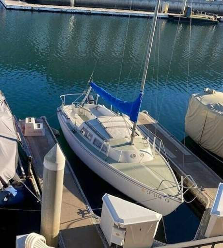 1973 Other Makes Catalina 22 Green & white used for sale craigslist
