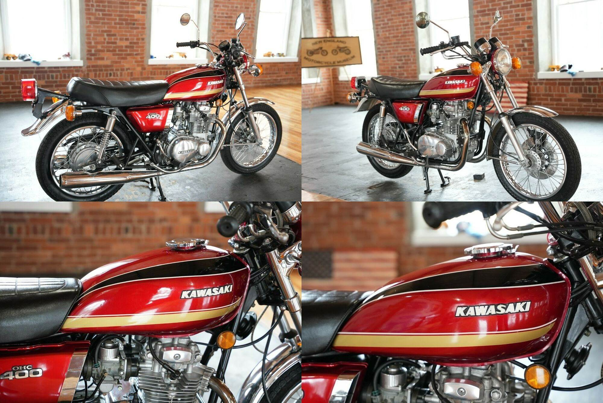 1974 Kawasaki KZ400-S  used for sale