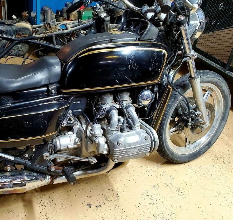 1978 Honda Gold Wing BLACK used for sale
