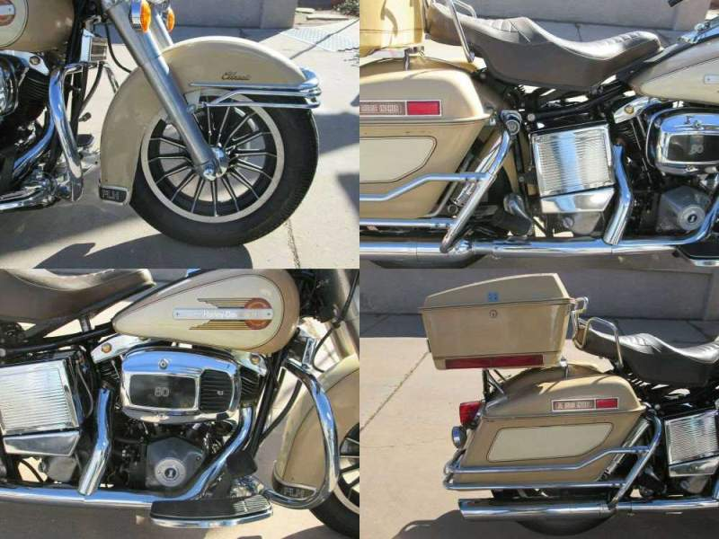 1979 Harley-Davidson Touring Tan used for sale near me