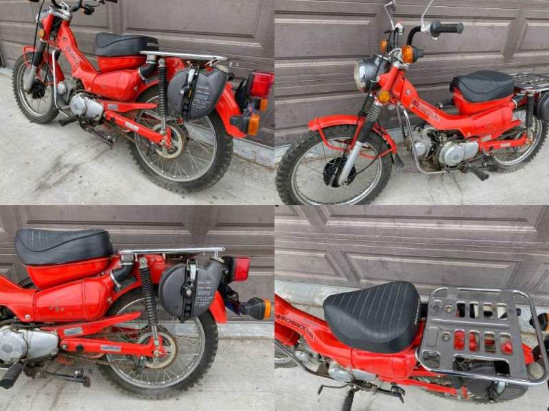 1980 Honda CT Red used for sale craigslist