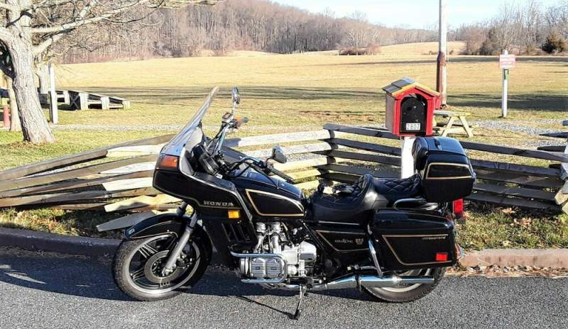 1980 Honda Gold Wing Black used for sale craigslist