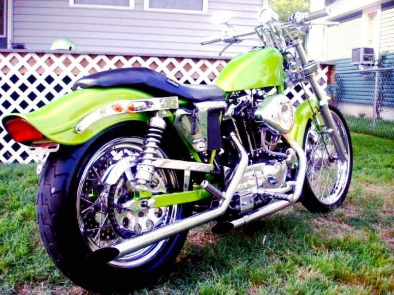 1981 Harley-Davidson Sportster Green used for sale craigslist