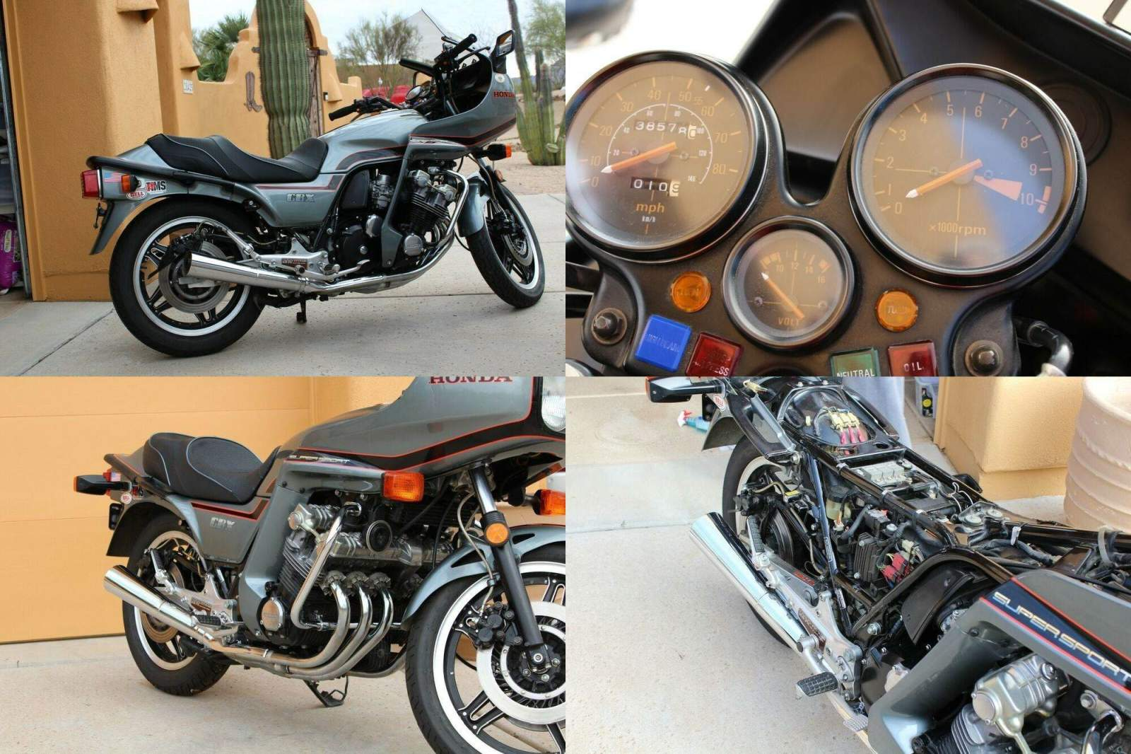 1981 Honda CBX Gray used for sale