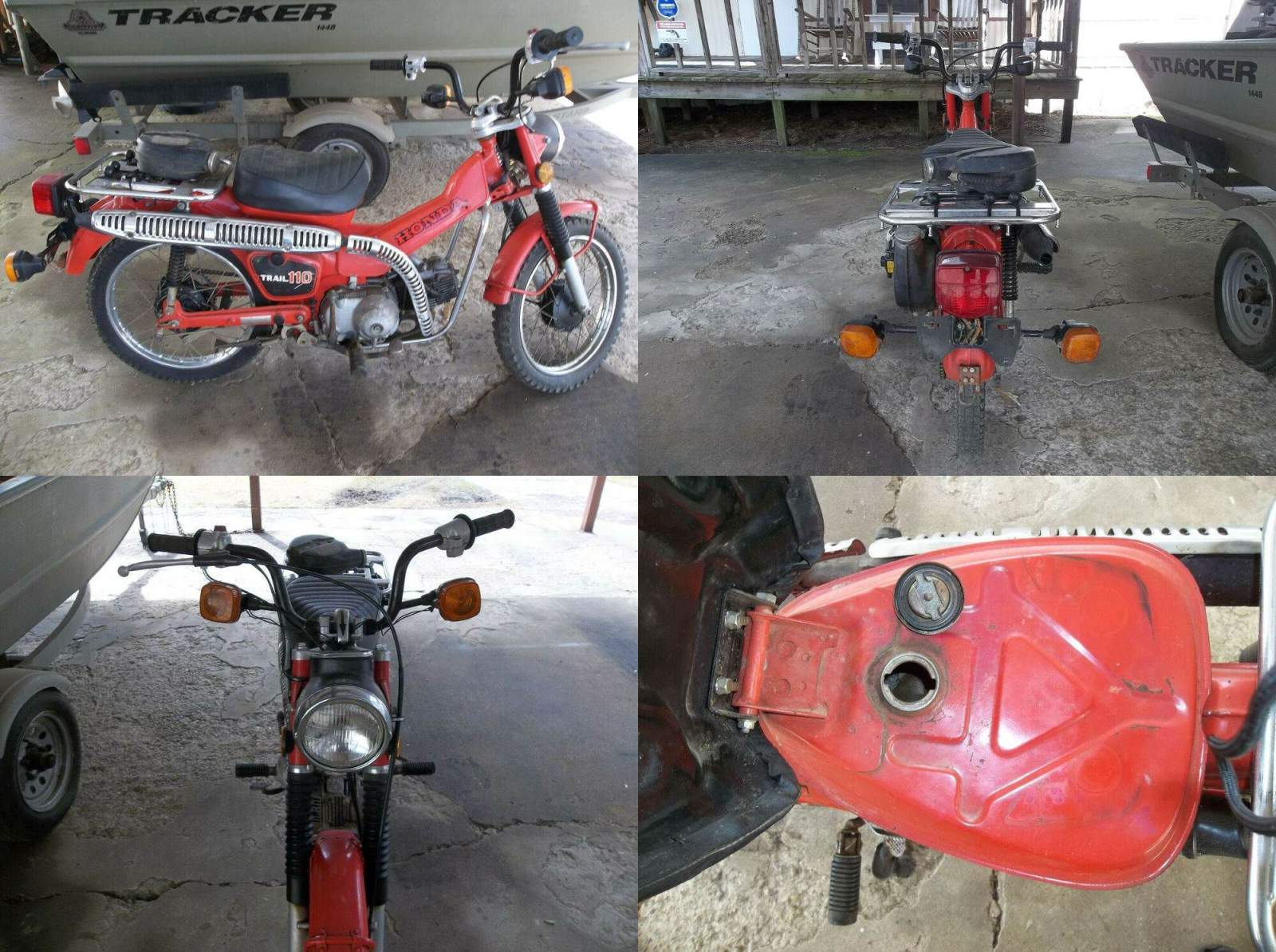 1981 Honda CT Red used for sale