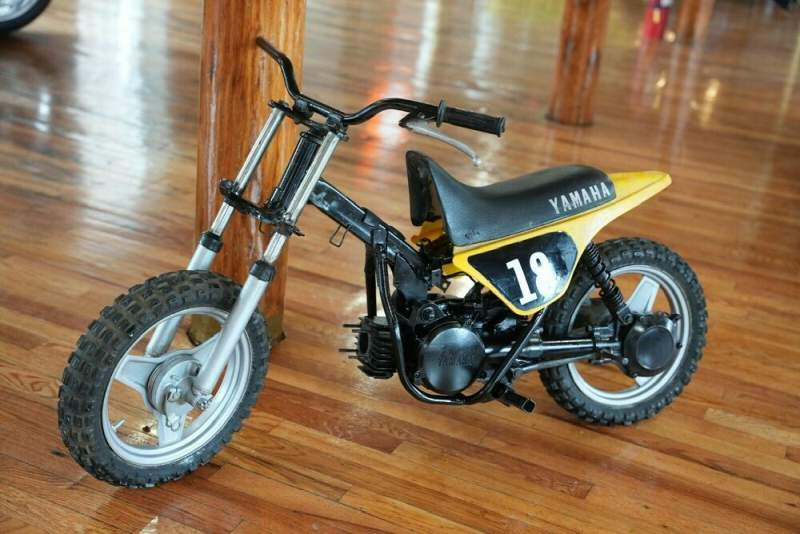 1981 Yamaha PW Yellow used for sale