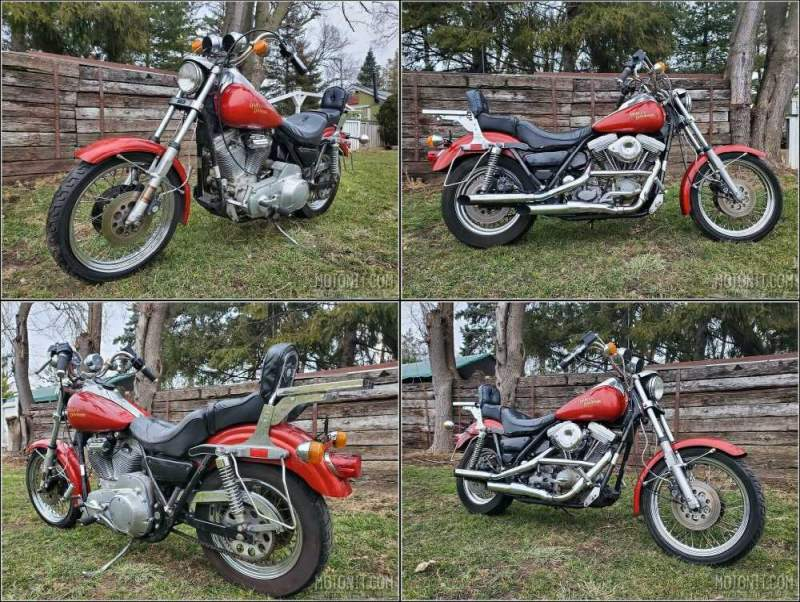 1982 Harley-Davidson Touring Red used for sale craigslist
