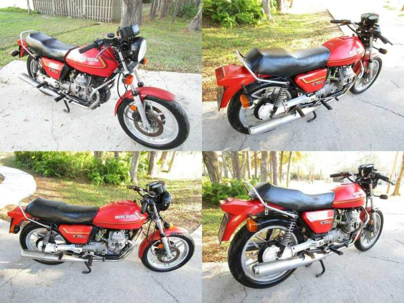 1982 Moto Guzzi V50 III Monza  used for sale craigslist