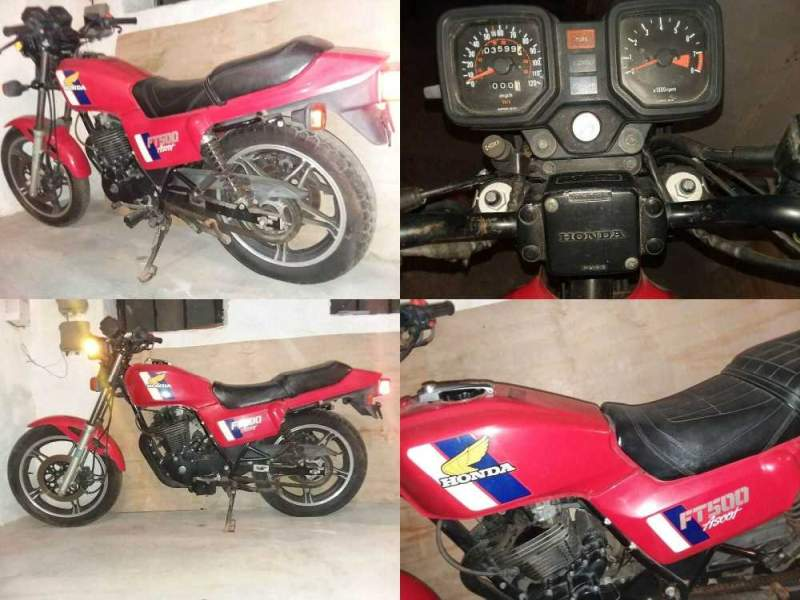 1983 Honda Ascot Red used for sale