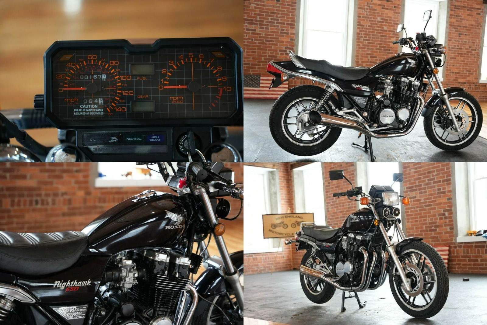 1983 Honda Nighthawk Blue used for sale