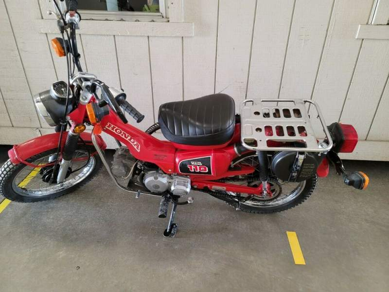 1984 Honda CT Red used for sale