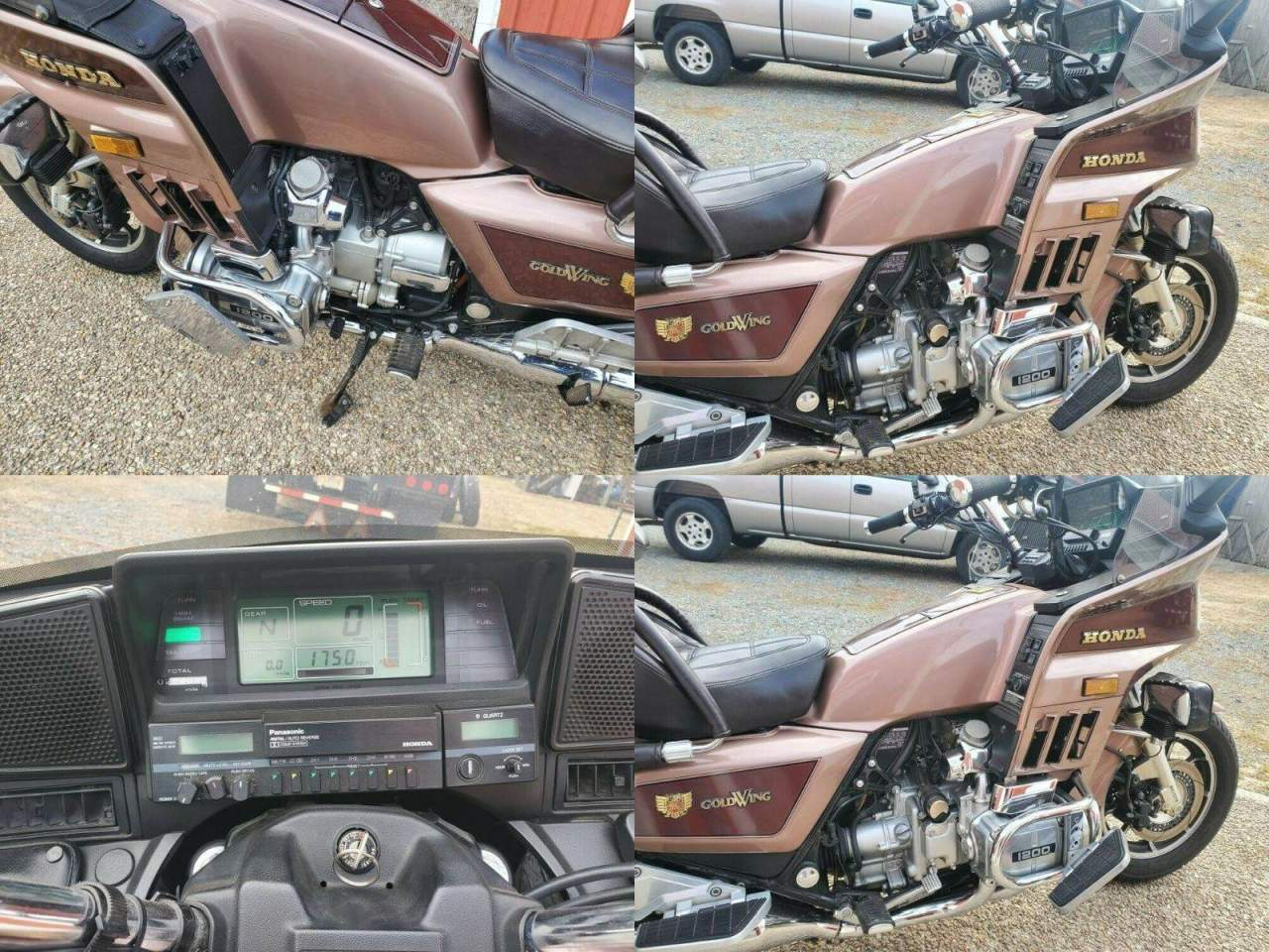 1986 Honda Gold Wing Gold used for sale near me