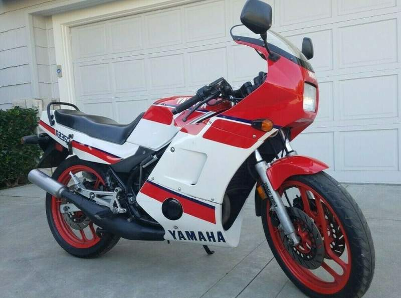 1986 Yamaha RZ 350 Red used for sale