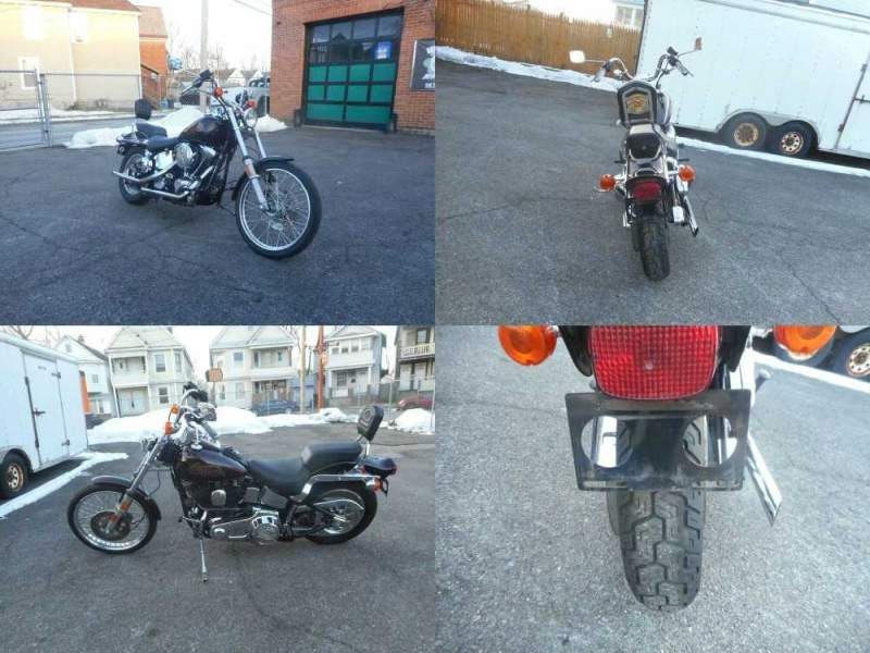 1987 Harley-Davidson Softail Burgundy used for sale near me