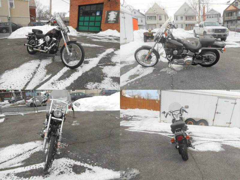 1989 Harley-Davidson Softail Burgundy used for sale near me