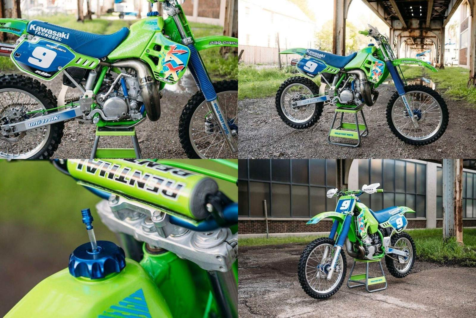 1989 Kawasaki KX Green used for sale near me