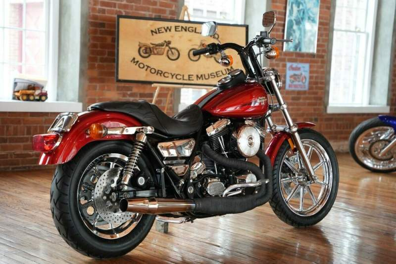 1990 Harley-Davidson FXR Victory Red Sunglo used for sale