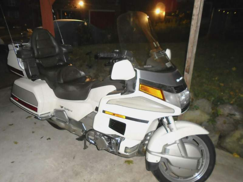 1990 Honda Gold Wing White used for sale craigslist