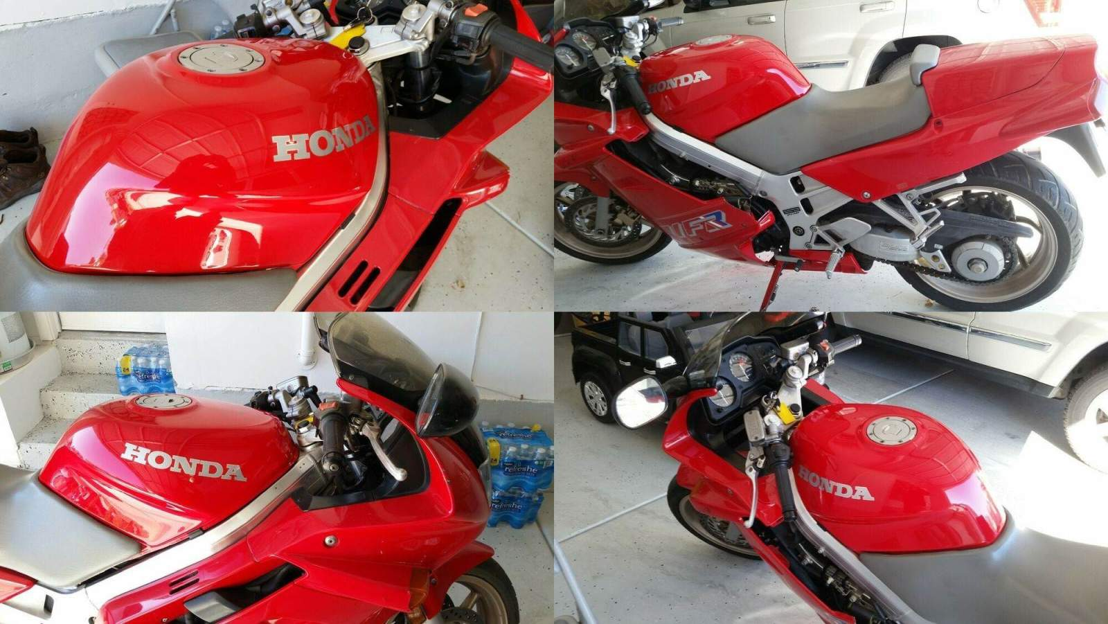 1991 Honda Vfr 750 Red used for sale craigslist
