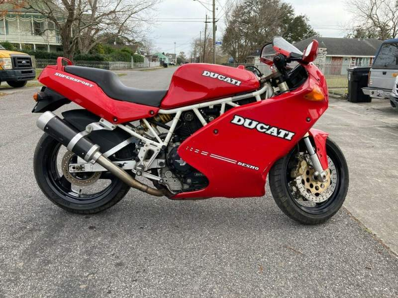 1993 Ducati SuperSport 900 Red used for sale