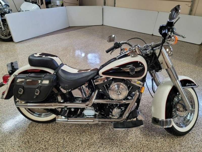 1993 Harley-Davidson Softail White used for sale
