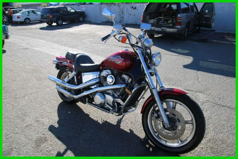 1993 Honda Shadow Red used for sale craigslist