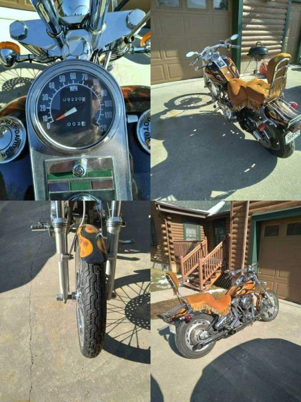 1994 Harley Davidson Softail   for sale craigslist