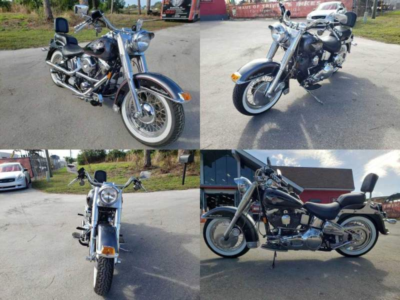 1995 Harley-Davidson Softail Gray used for sale