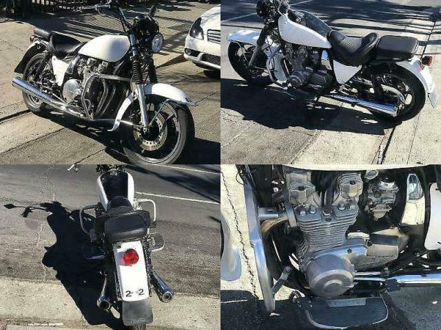 1995 Kawasaki KZ1000 POLICE SPECIAL Black N WHITE used for sale