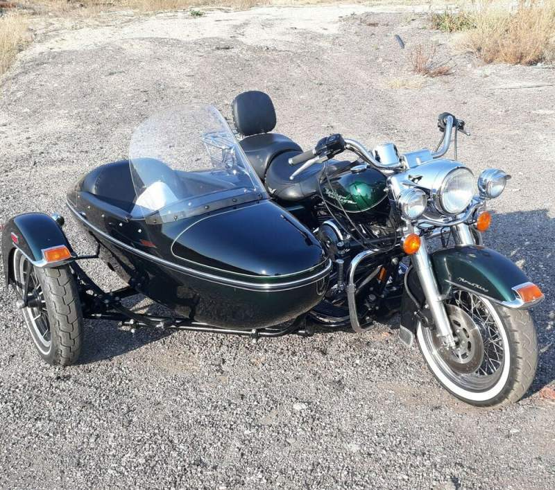 1996 Harley-Davidson 1996 Harley Davidson Road King with Factory Side car  used for sale