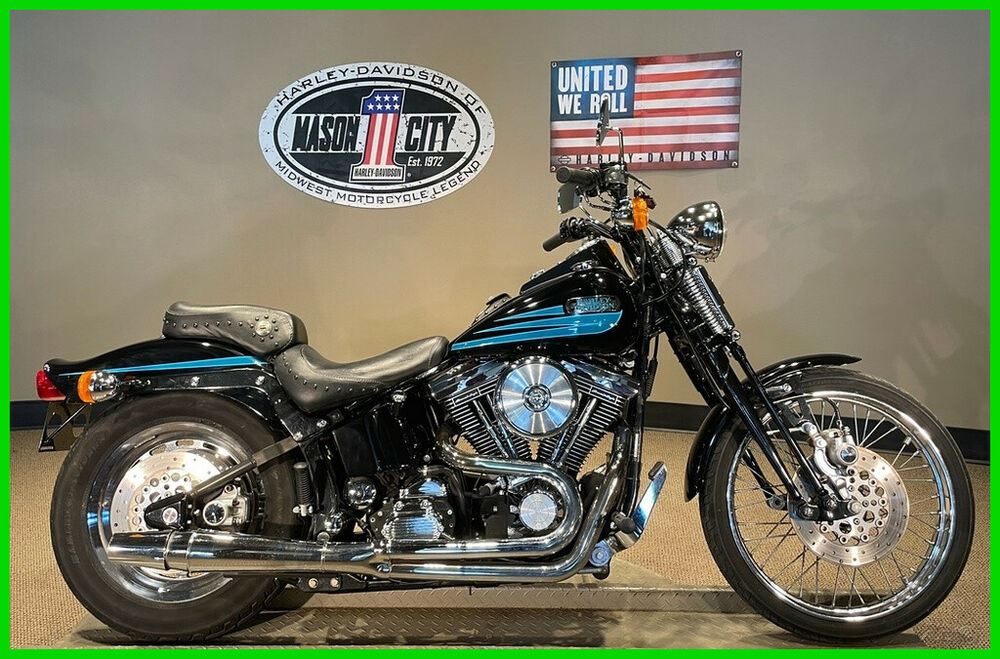 1996 Harley-Davidson Softail Springer® Softail® Vivid Black & Turquoise used for sale craigslist