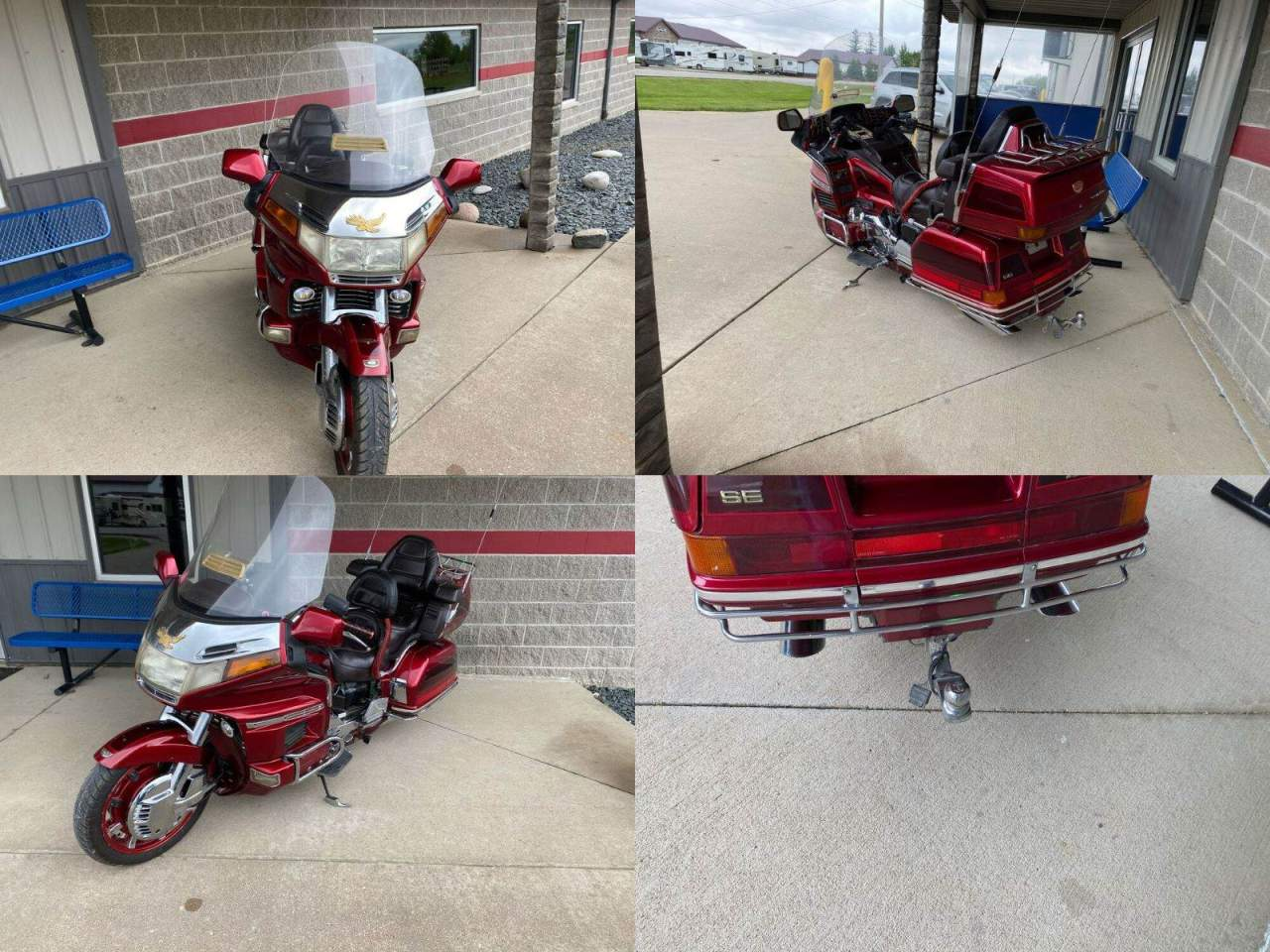 1996 Honda GOLDWING 1500 Red used for sale