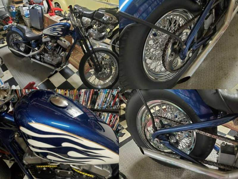 1997 Harley-Davidson Buell Thunderbolt S3 Blue used for sale craigslist